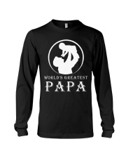 WORLDS GREATEST PAPA Long Sleeve Tee tile