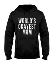 WORLD'S OKAYEST MOM Hooded Sweatshirt thumbnail