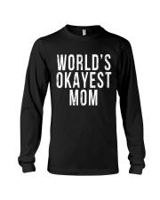 WORLD'S OKAYEST MOM Long Sleeve Tee thumbnail