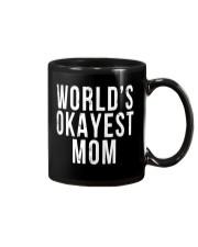 WORLD'S OKAYEST MOM Mug thumbnail