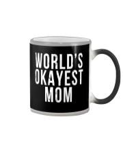 WORLD'S OKAYEST MOM Color Changing Mug thumbnail