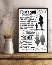 To My Son From Mom 11x17 Poster lifestyle-poster-3