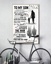To My Son From Mom 11x17 Poster lifestyle-poster-7