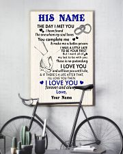 To My Husband From Wife 11x17 Poster lifestyle-poster-7