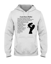 A NOTE FROM A MOTHER Hooded Sweatshirt thumbnail