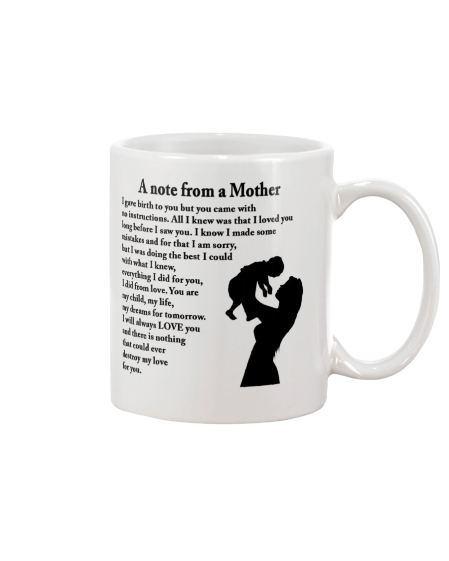 A NOTE FROM A MOTHER Mug