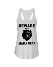BEWARE THE MAMA BEAR Ladies Flowy Tank thumbnail