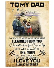 To My Dad From Son 11x17 Poster front