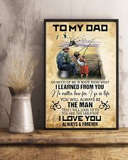 To My Dad From Son 11x17 Poster lifestyle-poster-3