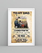 To My Dad From Son 11x17 Poster lifestyle-poster-5