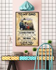 To My Dad From Son 11x17 Poster lifestyle-poster-6