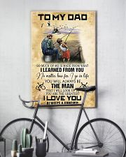 To My Dad From Son 11x17 Poster lifestyle-poster-7