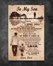To My Son From Dad 11x17 Poster aos-poster-portrait-11x17-lifestyle-12