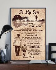 To My Son From Dad 11x17 Poster lifestyle-poster-2