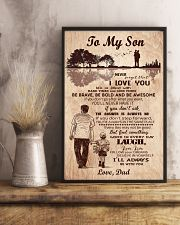 To My Son From Dad 11x17 Poster lifestyle-poster-3