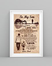 To My Son From Dad 11x17 Poster lifestyle-poster-5