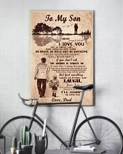 To My Son From Dad 11x17 Poster lifestyle-poster-7