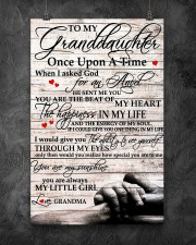 To My Granddaughter From Grandma 11x17 Poster aos-poster-portrait-11x17-lifestyle-12