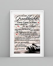 To My Granddaughter From Grandma 11x17 Poster lifestyle-poster-5