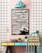 To My Granddaughter From Grandma 11x17 Poster lifestyle-poster-6