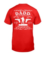 DADD DAD'S AGAINST DAUGHTERS DATING Classic T-Shirt back