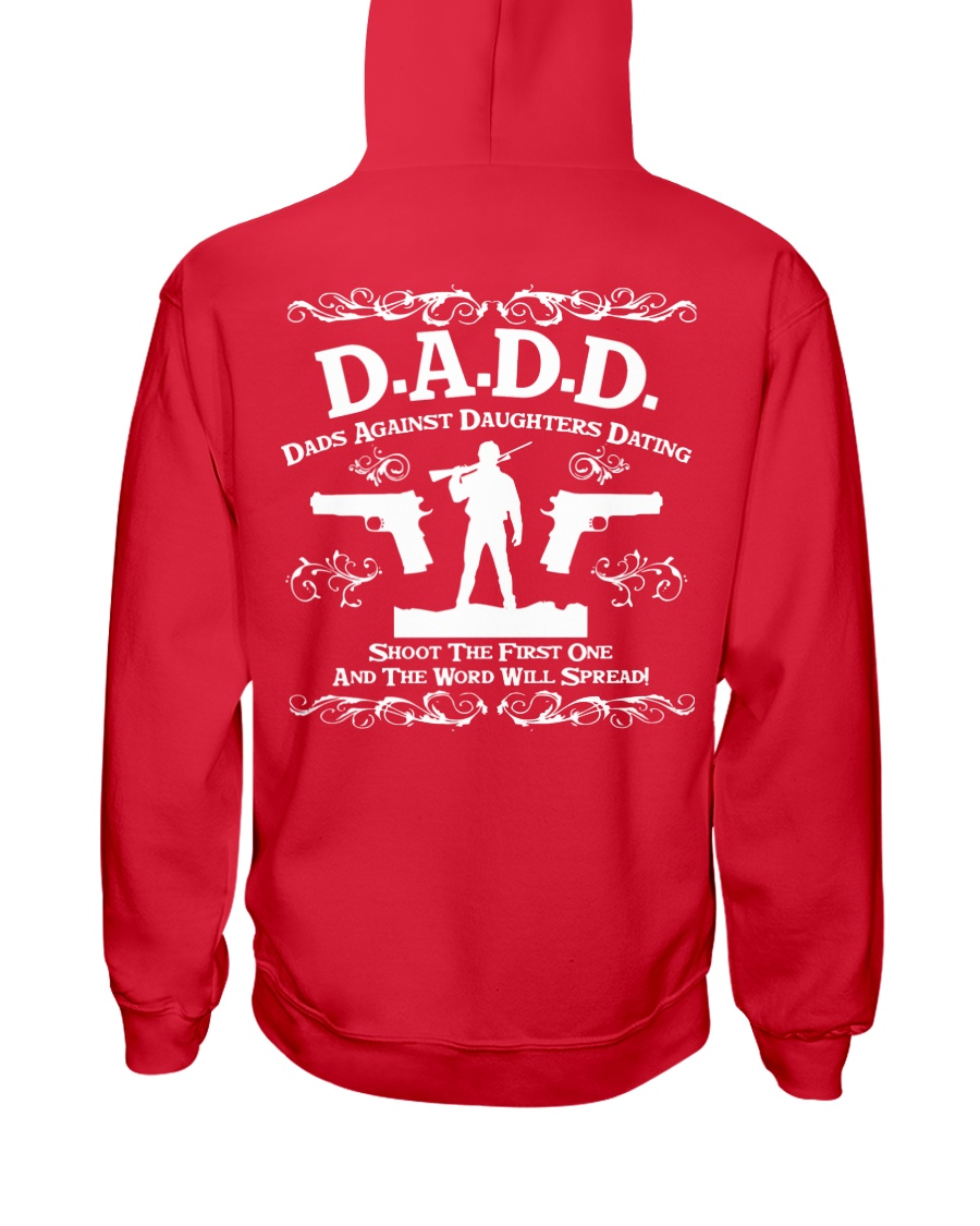 DADD DAD'S AGAINST DAUGHTERS DATING Hooded Sweatshirt