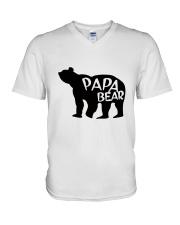 PAPA BEAR V-Neck T-Shirt thumbnail