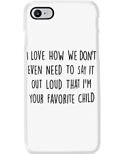 I LOVE HOW WE DON'T EVEN NEED TO SAY IT OUT LOUD Phone Case thumbnail