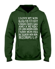 I LOVE MY SON Hooded Sweatshirt front