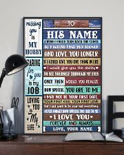 To My Husband From Wife 11x17 Poster lifestyle-poster-2