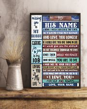 To My Husband From Wife 11x17 Poster lifestyle-poster-3