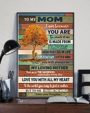 To My Mom From Daughter 11x17 Poster lifestyle-poster-2