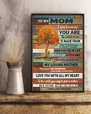 To My Mom From Daughter 11x17 Poster lifestyle-poster-3
