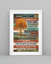 To My Mom From Daughter 11x17 Poster lifestyle-poster-5