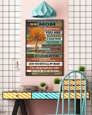To My Mom From Daughter 11x17 Poster lifestyle-poster-6