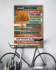 To My Mom From Daughter 11x17 Poster lifestyle-poster-7