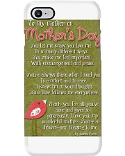 TO MY MOTHER ON MOTHER'S DAY Phone Case thumbnail
