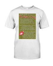 TO MY MOTHER ON MOTHER'S DAY Classic T-Shirt thumbnail