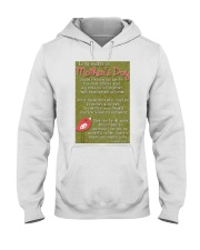 TO MY MOTHER ON MOTHER'S DAY Hooded Sweatshirt front