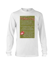 TO MY MOTHER ON MOTHER'S DAY Long Sleeve Tee front