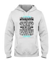 TO MY SON Hooded Sweatshirt thumbnail