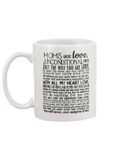 MOM ARE LOVE Mug back