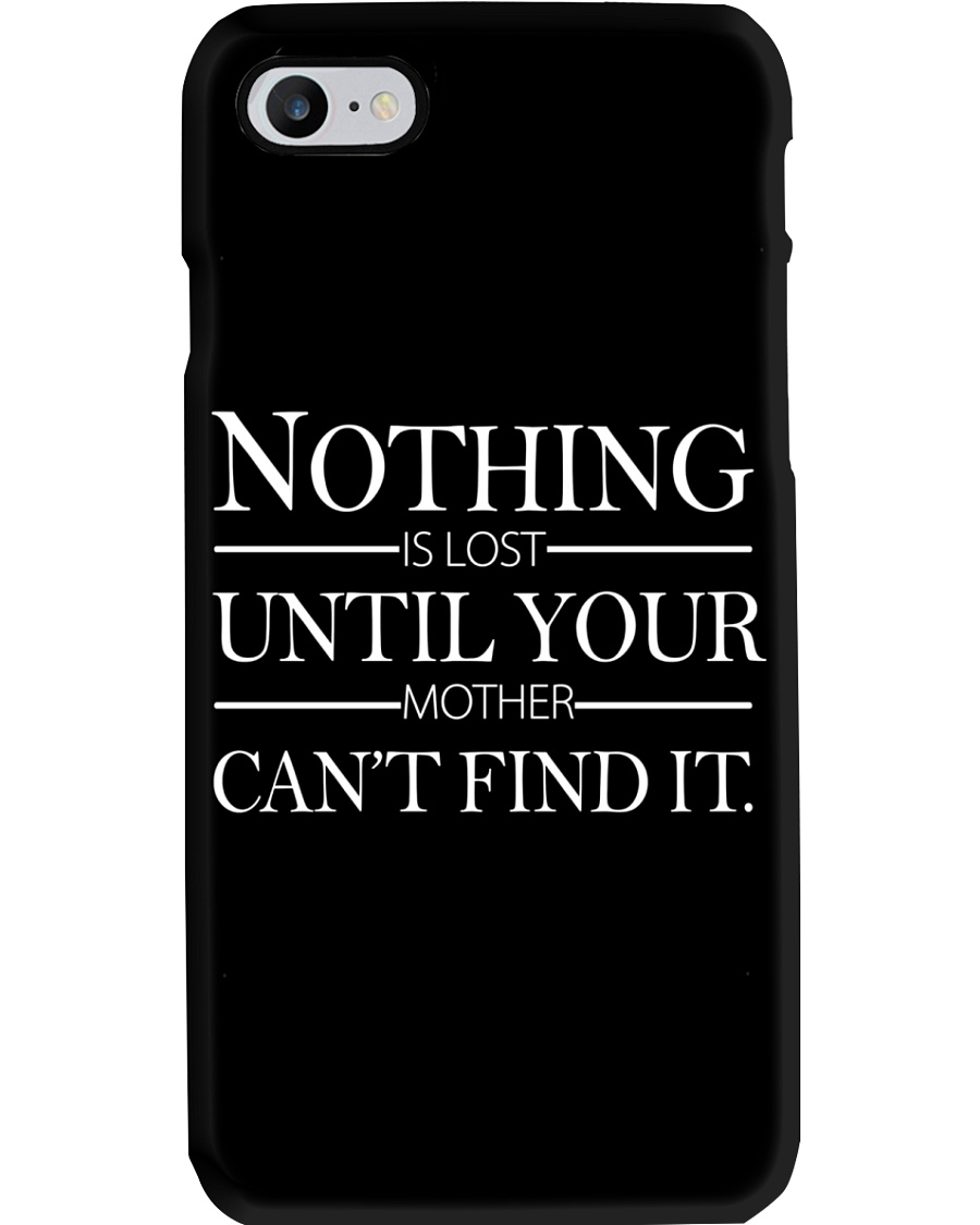 NOTHING UNTIL YOUR  Phone Case