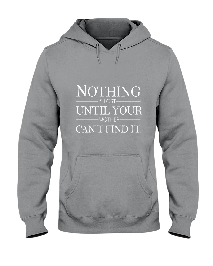 NOTHING UNTIL YOUR  Hooded Sweatshirt