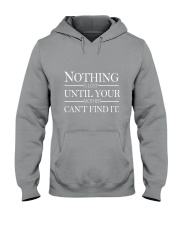 NOTHING UNTIL YOUR  Hooded Sweatshirt front