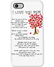 I LOVE YOU MUM Phone Case thumbnail