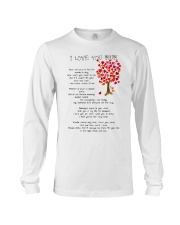 I LOVE YOU MUM Long Sleeve Tee thumbnail