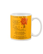 I LOVE YOU MUM Mug front