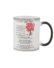I LOVE YOU MUM Color Changing Mug thumbnail