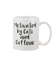 MOTIVATED BY CATS AND CATTEINE Mug thumbnail